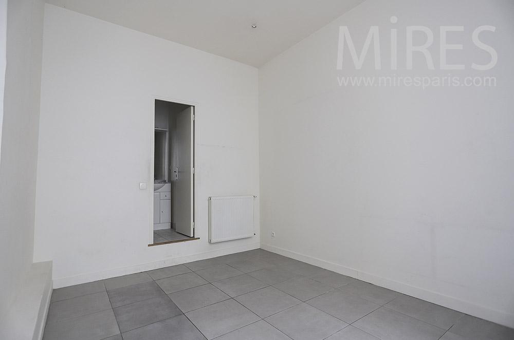 Chambre et lavabo. C1752