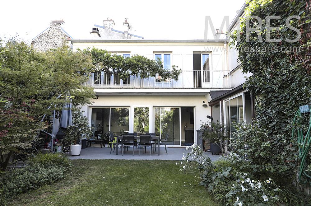 Maison parisienne. C1750