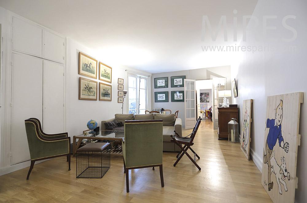 Comfortable apartment en rez de chaussée. C1756