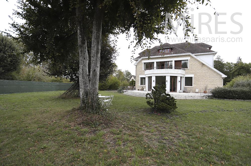 Large house. C1761