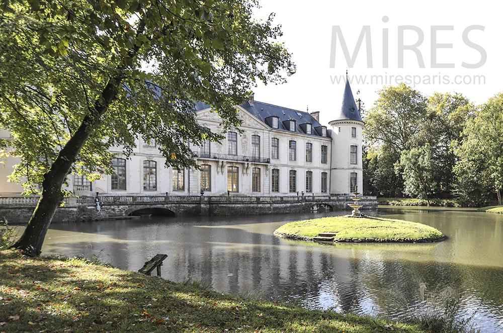 Château du 18ème siècle. C1763