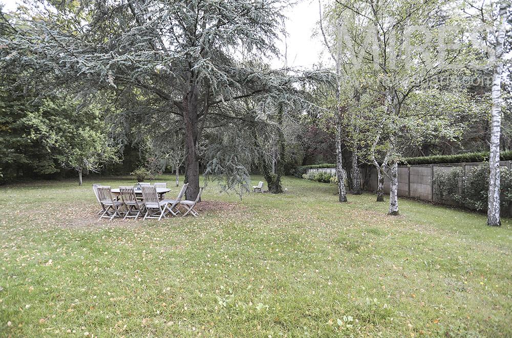 Table au jardin. C1757