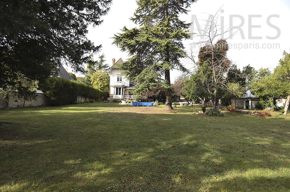 Grand jardin. C1760