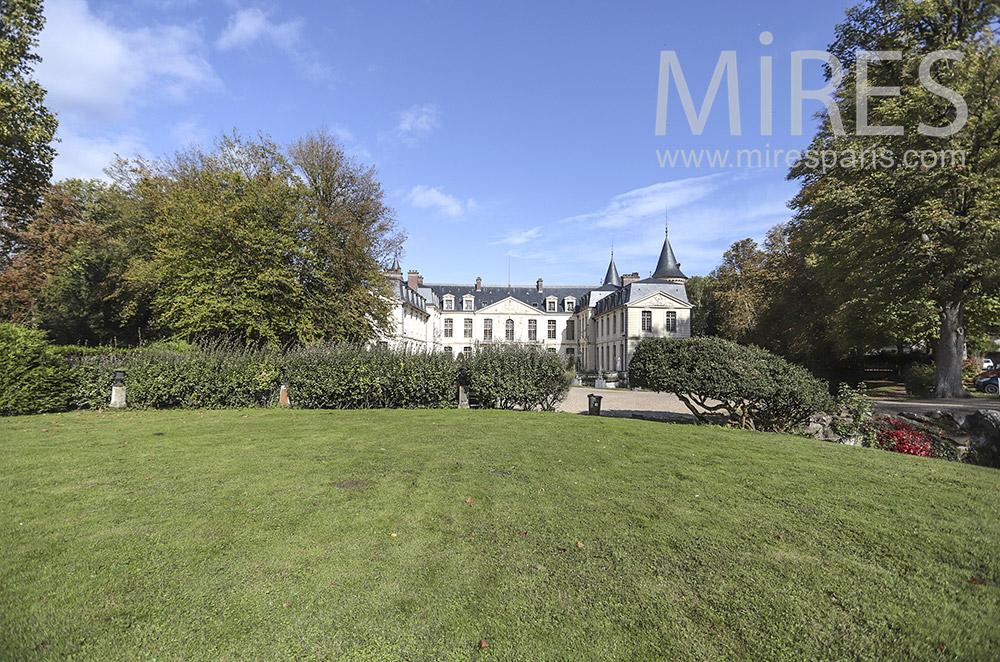 Park of the castle. C1763