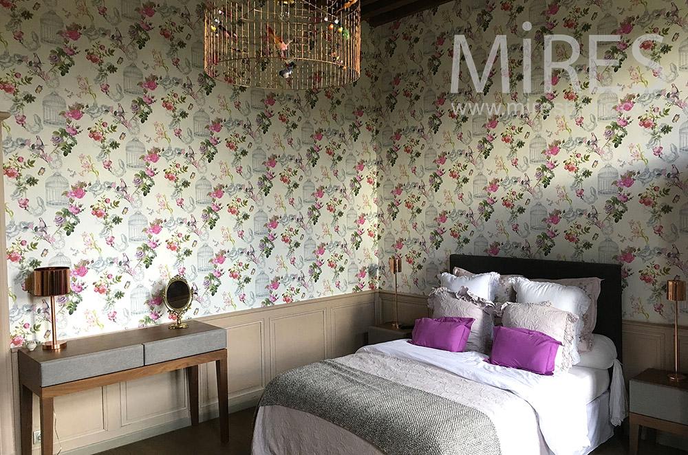 Retro bedroom. C1764