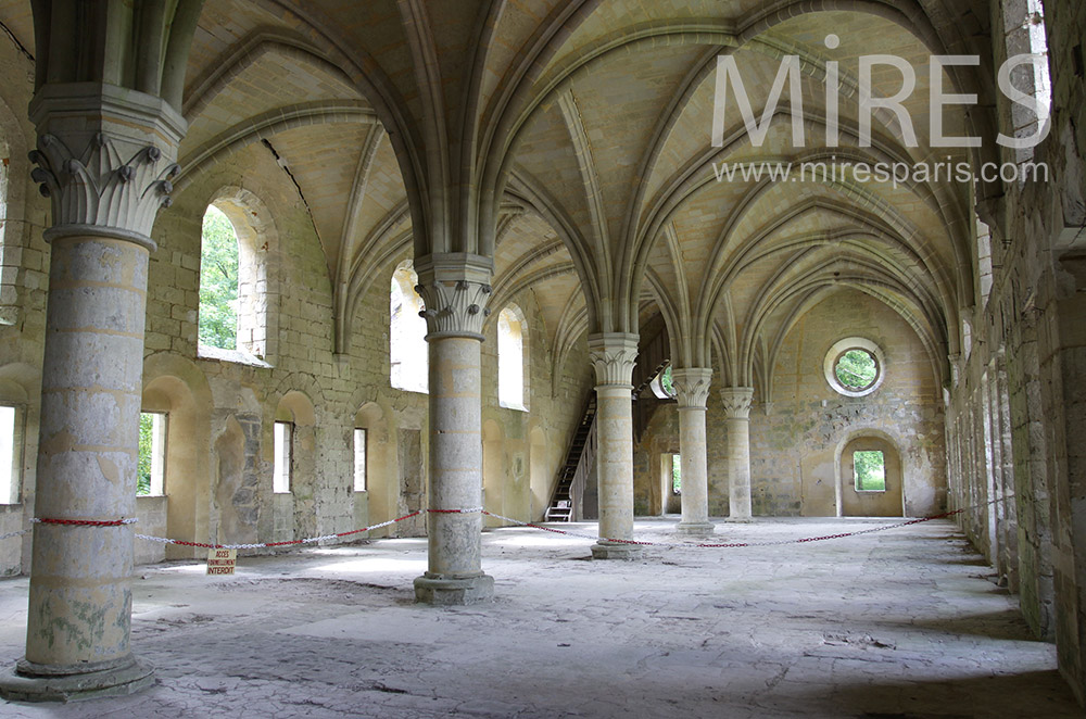Exceptional medieval hall. C0071