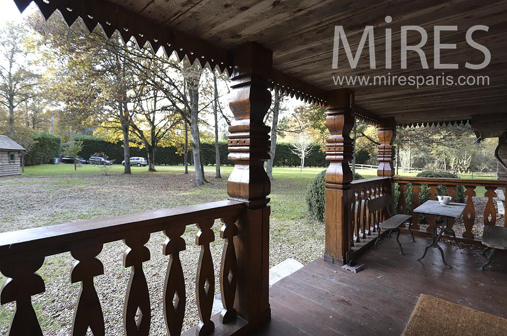 Entrance terrace. c0224