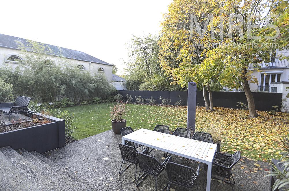 Garden terrace. C1775
