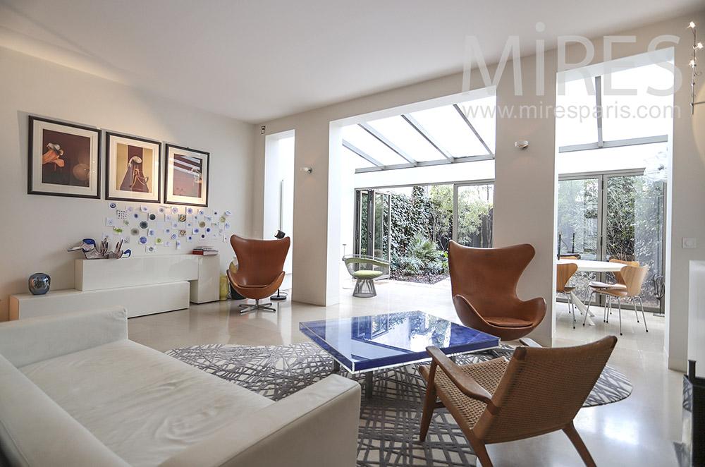 Maison Paris avec jardin. C1796