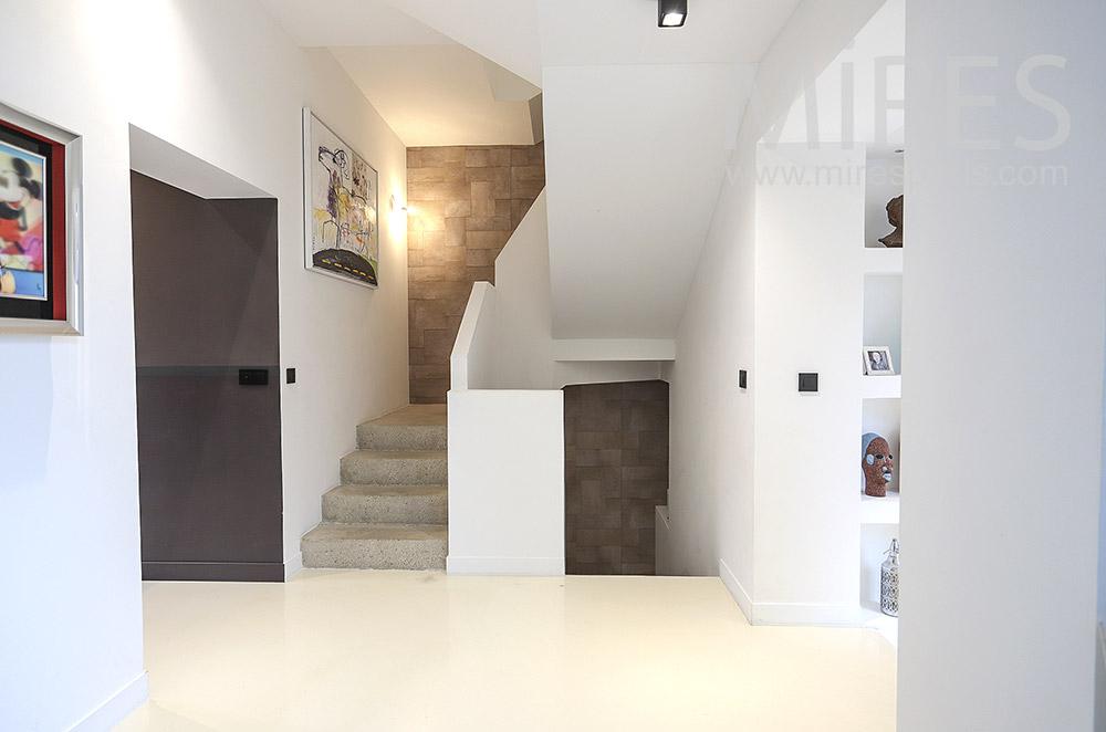 Escalier en béton. C1784
