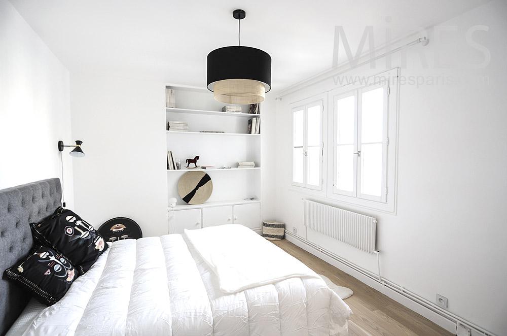 Petite chambre blanche. C1795