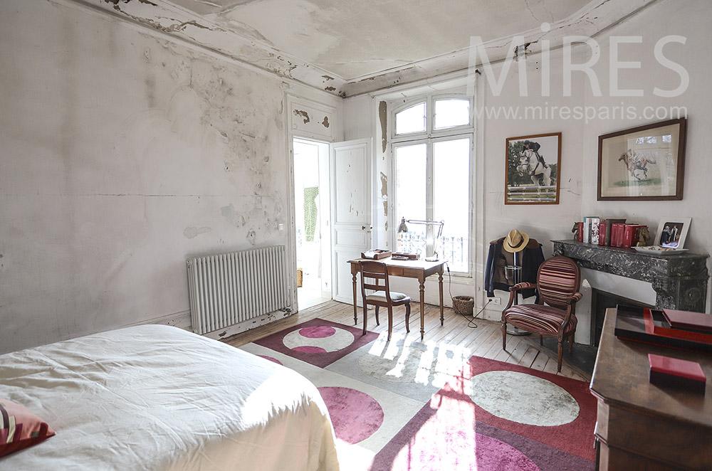 Chambre, bureau et bains. C1805