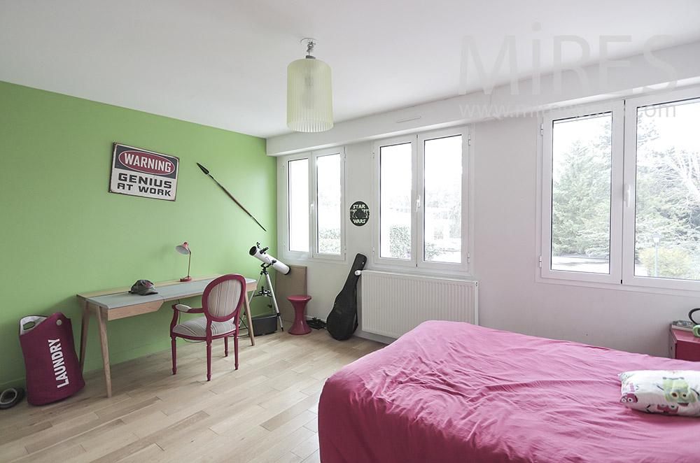 Chambre colorée. C1812