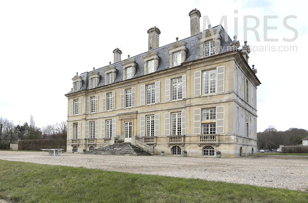 Château classique. C1819