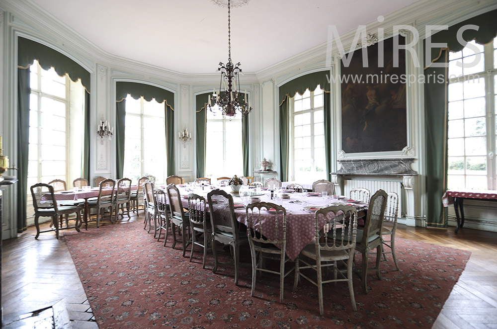 Large dining room. C1658