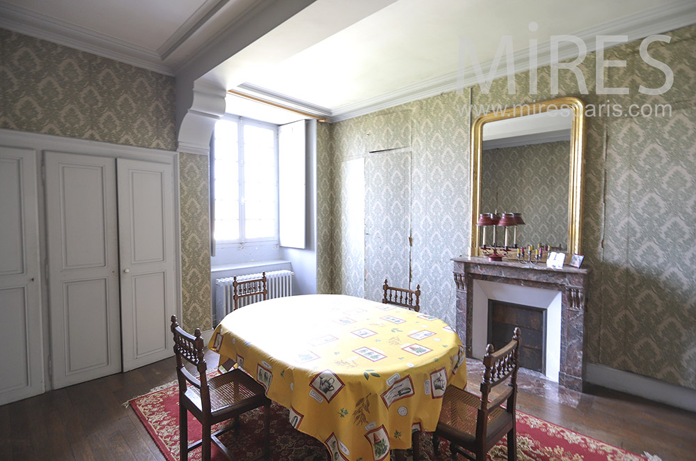 Small dining room. C1819