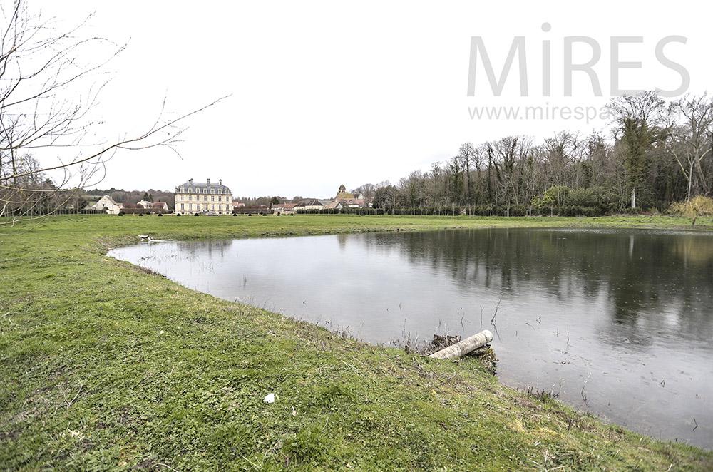 Park pond. C1819