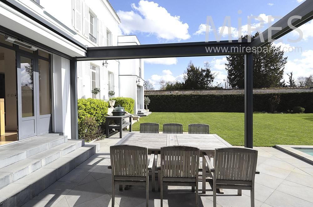 Nice terrace. C1826
