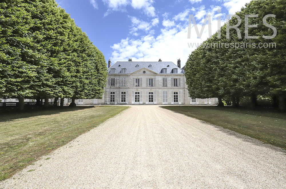 Château du 18ème siècle. C0053