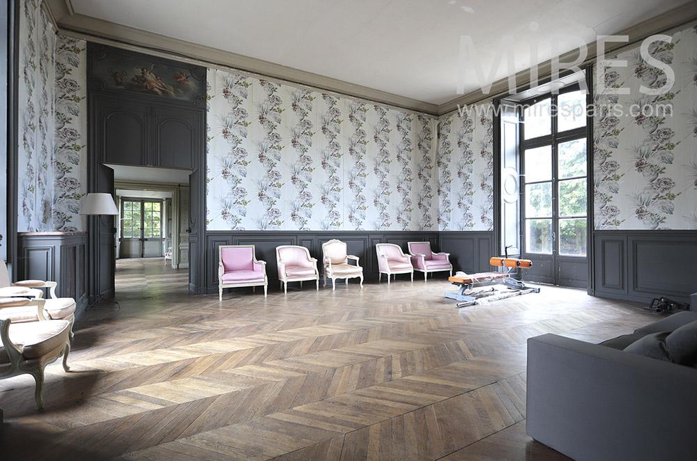 Salon et papier peint. C0053