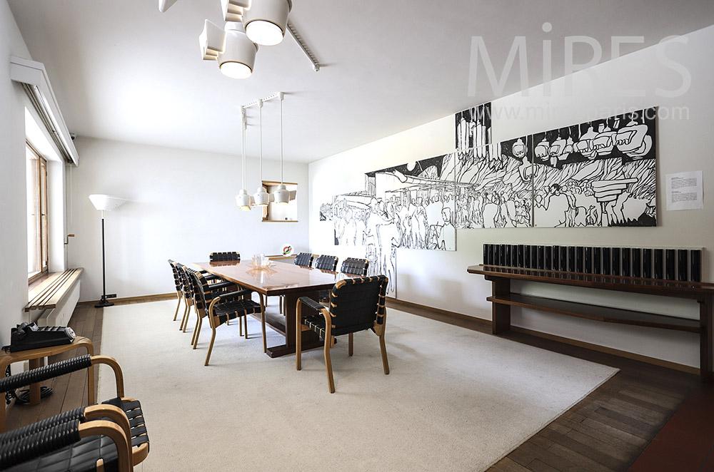 Decorative dining room. C1451