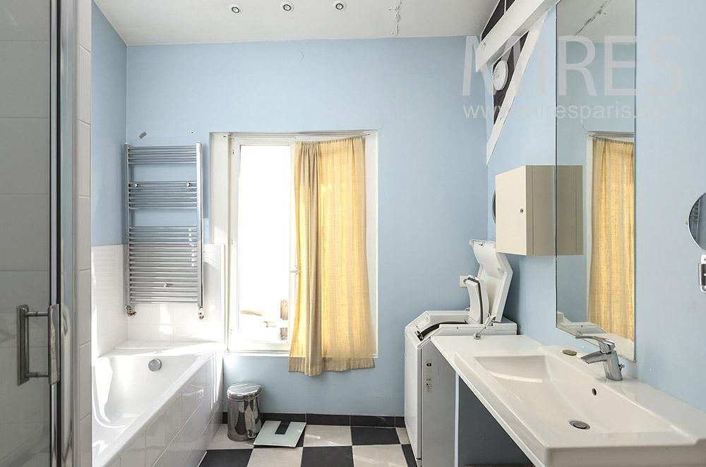 Blue baths. C1838
