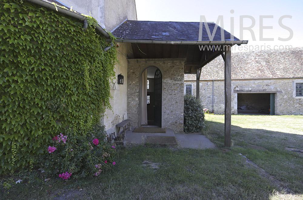 Stone entrance. C0151