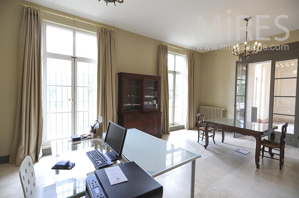 Large classic desk. C1842