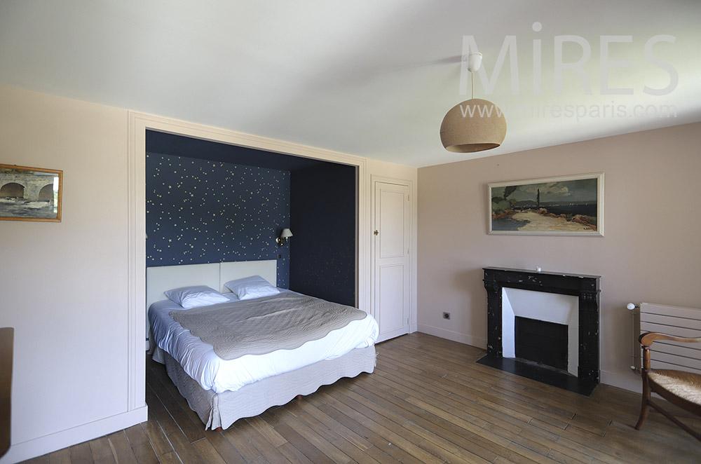 Alcove bedroom. C1842