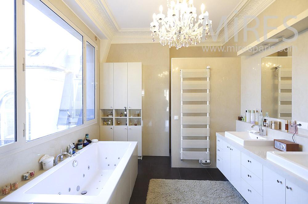 Bright bathroom. C1849
