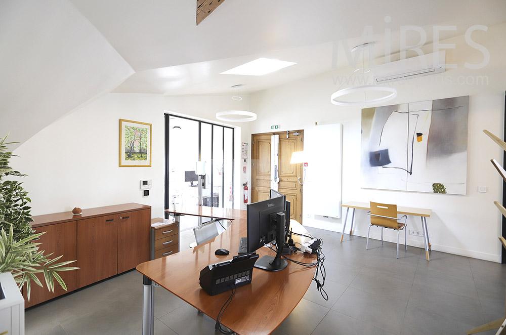 Réception de bureau. C1850