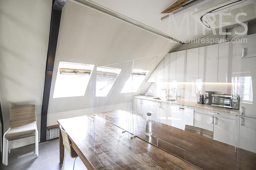 Office kitchen. C1850