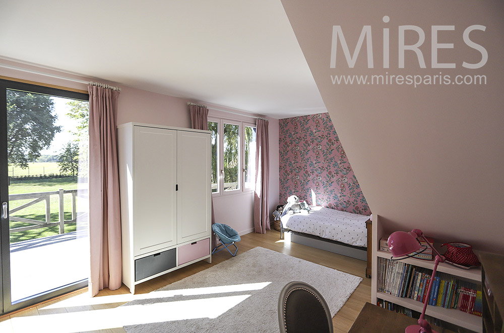 Pink room. C1853