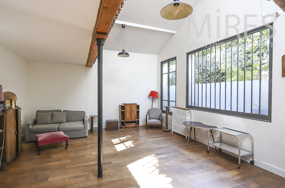 Salon d'atelier. C1859