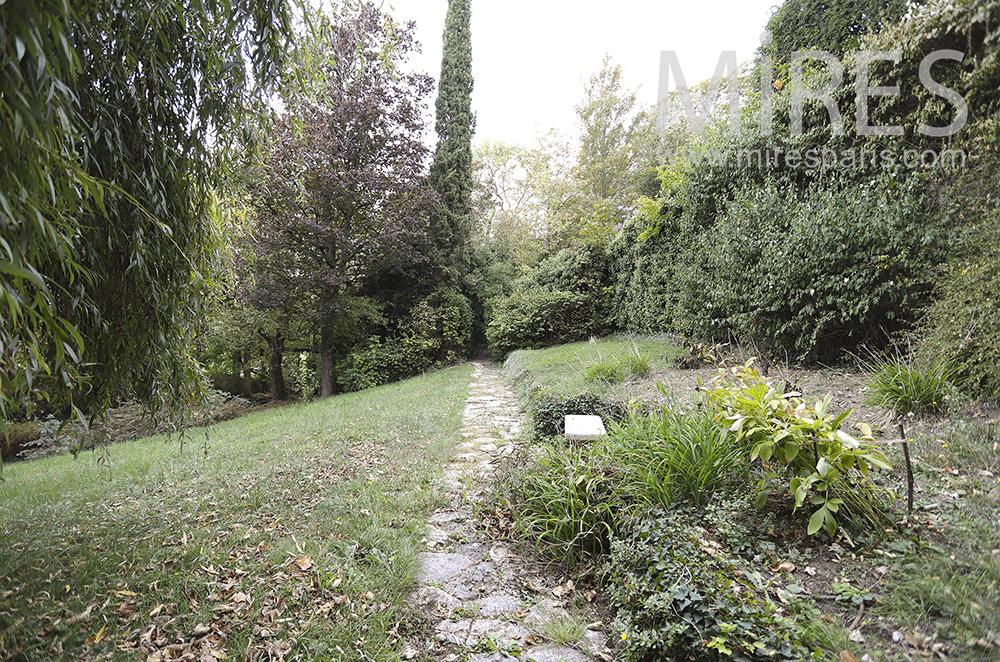 Walks in the garden. C1864