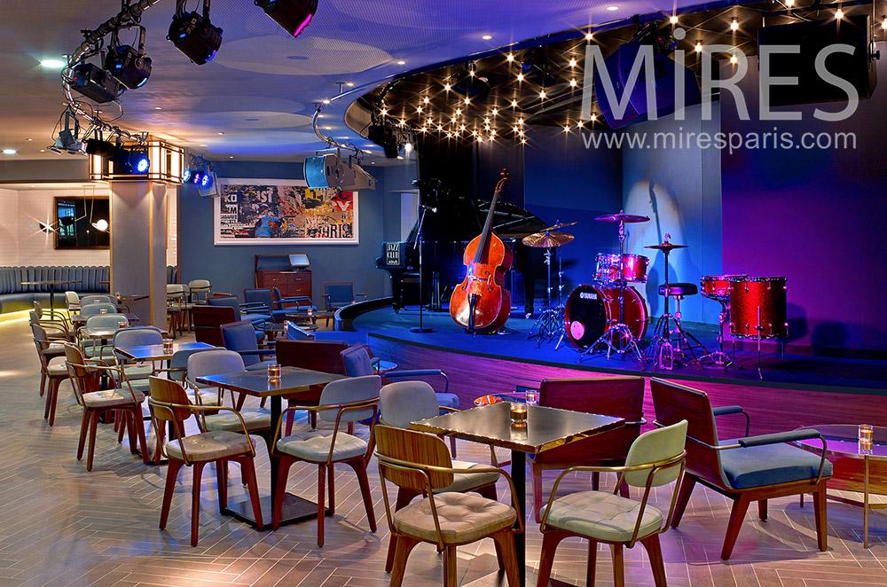 Jazz club. C1870