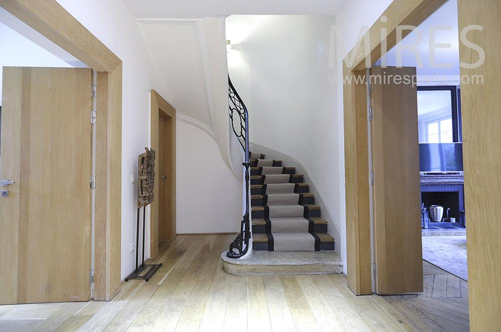 Escalier tournant. C1888