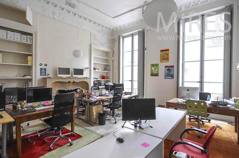 Bureau multiposte. C1891