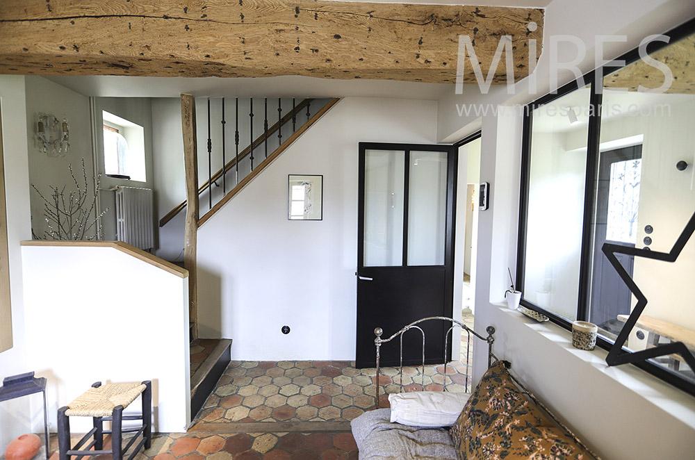 Petit escalier. C1906
