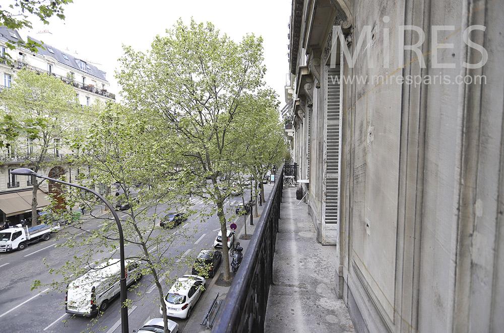Balcon filant. C1908