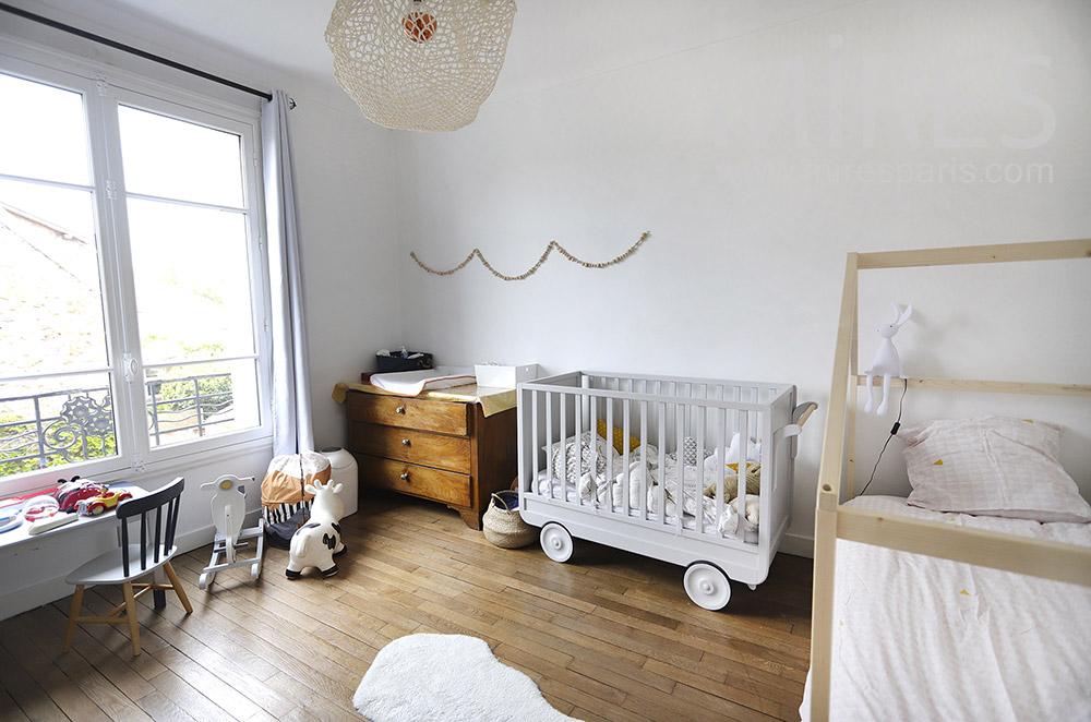 Baby room. C1913
