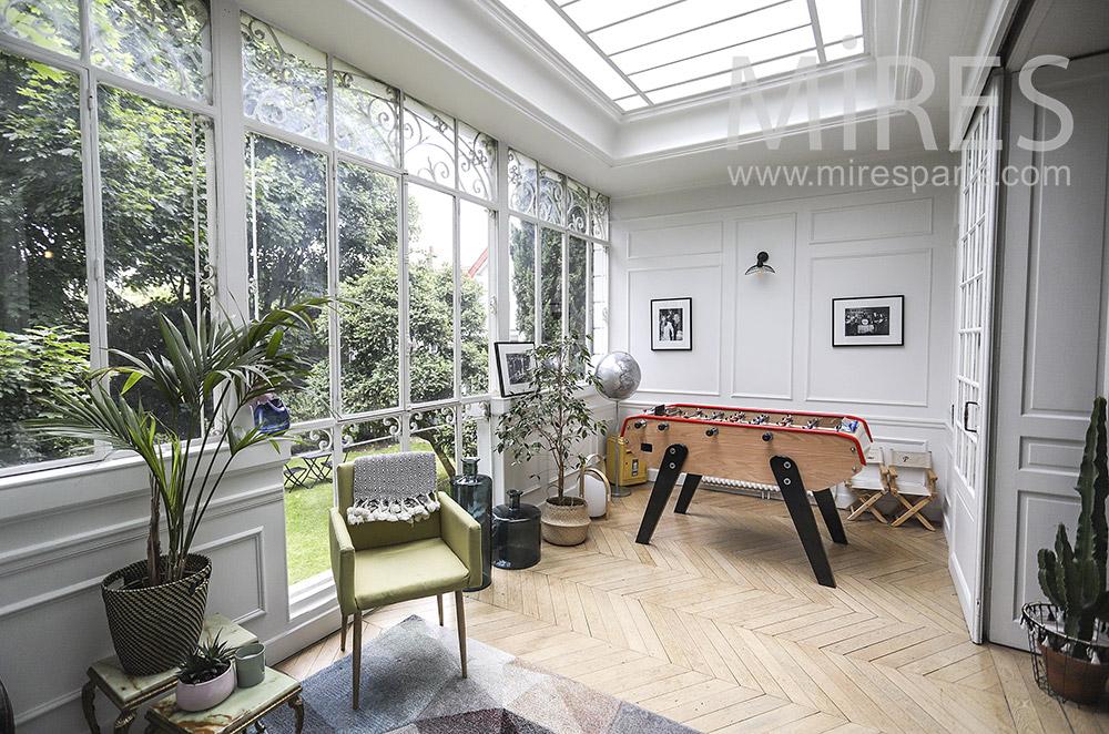 Beautiful retro veranda. C1563