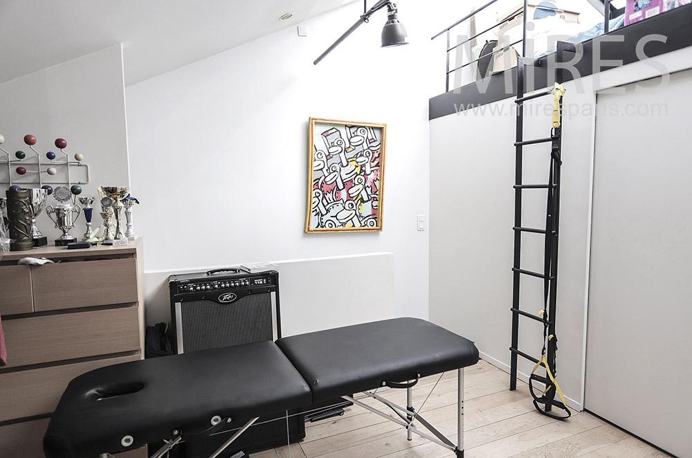 Massage room. C1938