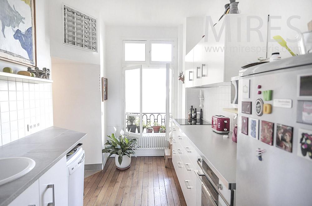 Organized kitchen. C1940