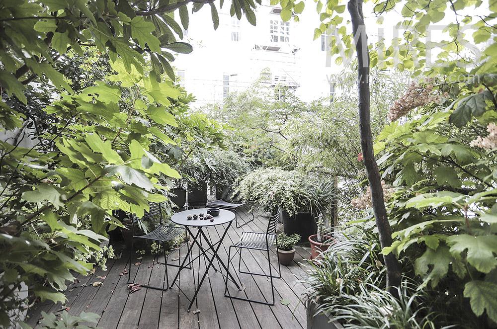 Discreet terrace. C1942