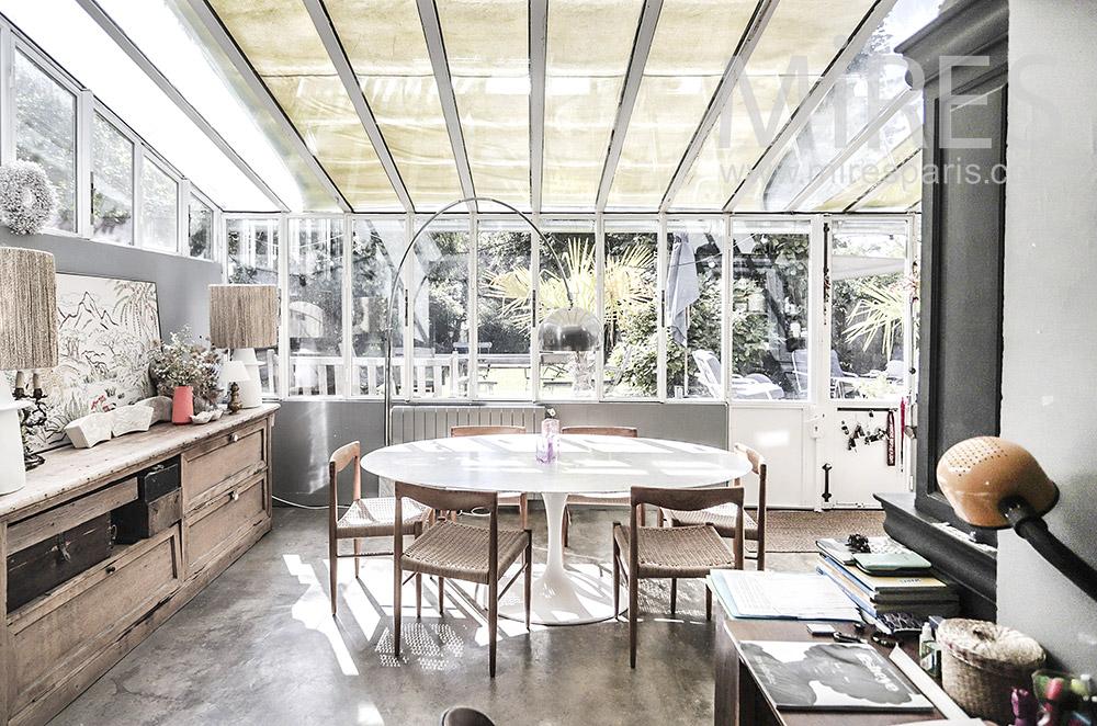 Dining room veranda. C1945
